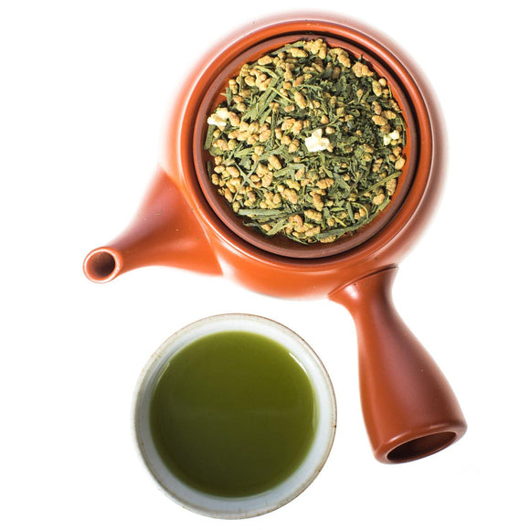 Genmaicha with Matcha Brown Rice Tea