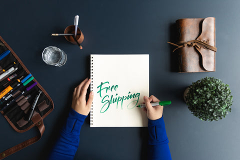Free Standard Shipping on all orders to the US