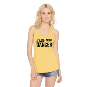 Athlete Artist Dancer Ladies Racerback Tank Top