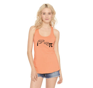 Be Rational Get Real Ladies Racerback Tank Top