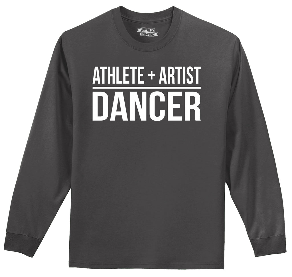 Athlete Artist Dancer Mens Long Sleeve Tee Shirt