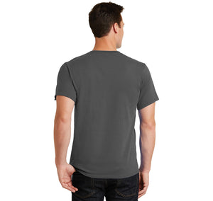 Beard Length Ruler Men's Heavyweight Cotton Tee Shirt
