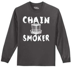 Chain Smoker Mens Long Sleeve Tee Shirt