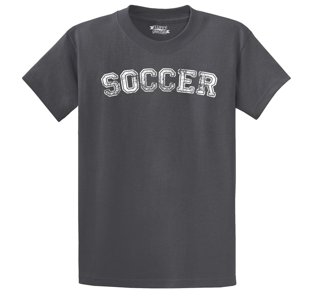 Soccer Sports Goalie Shirt Men's Heavyweight Cotton Tee Shirt