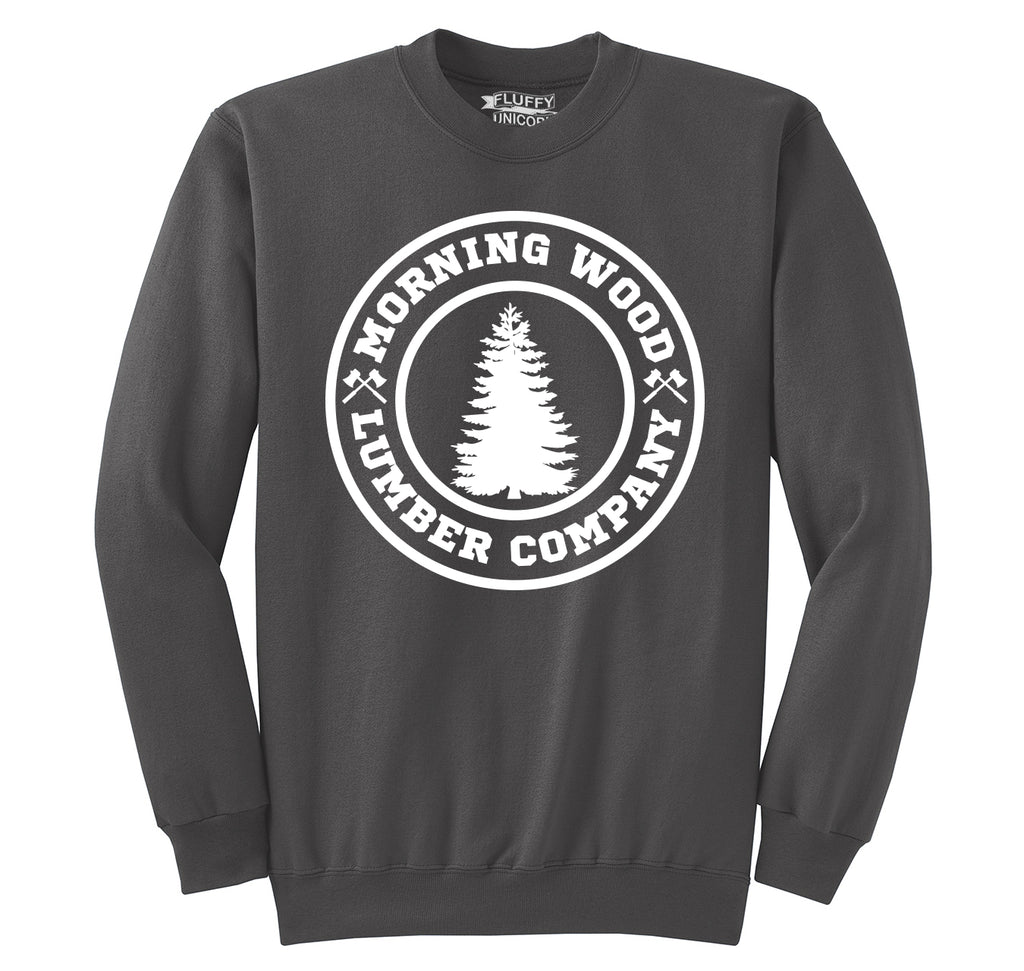 Morning Wood Lumber Company Crewneck Sweatshirt