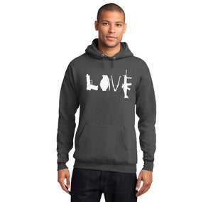 Love Guns Hooded Sweatshirt