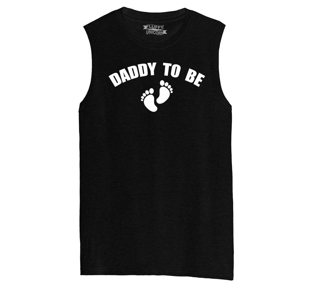 Daddy To Be Mens Muscle Tank Muscle Tee