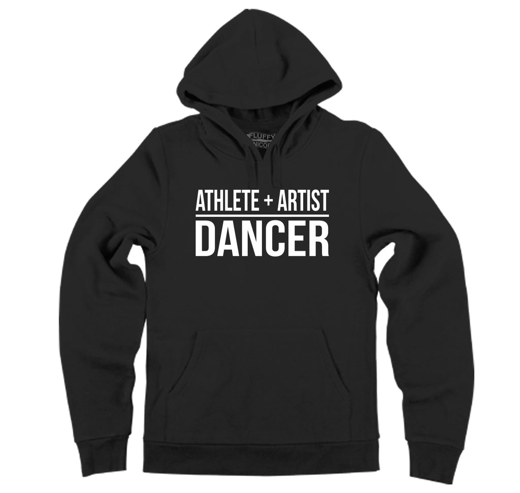 Athlete Artist Dancer Hooded Sweatshirt