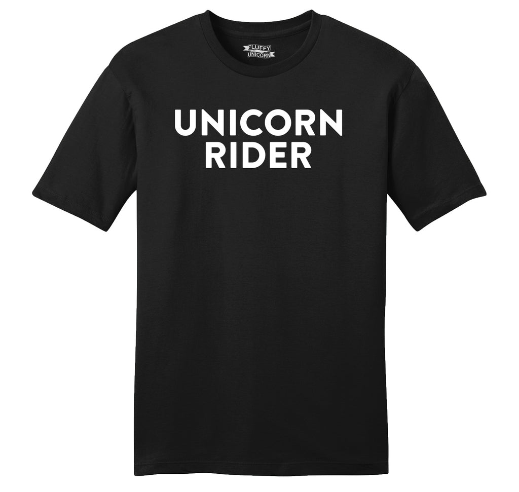 Unicorn Rider Funny T Shirt Cute Unicorn Horse Lover Gift Tee Mens Ringspun Cotton Tee Shirt