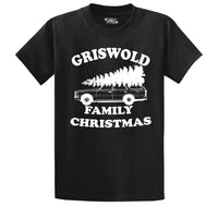 Griswold Family Christmas Men's Heavyweight Cotton Tee Shirt