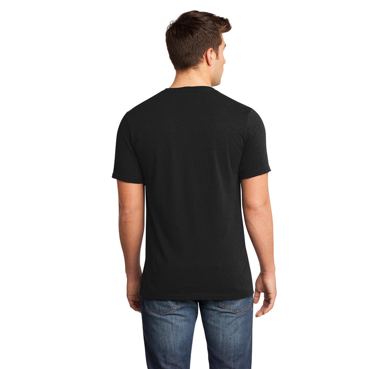 Cling Clang Mens Short Sleeve Ringspun V Neck