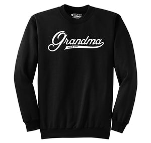 Grandma Since 2017 Shirt Cute New Baby Gift For Grandmother Crewneck Sweatshirt