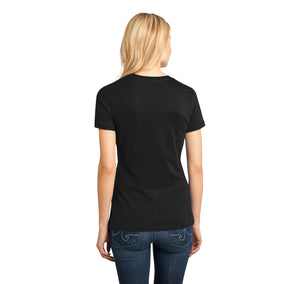 I've Had It Up To Here With Midgets Ladies Ringspun Short Sleeve Tee