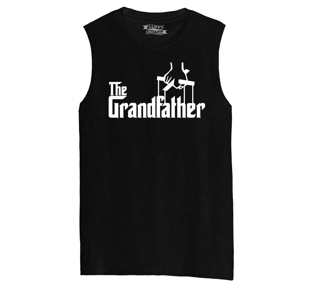 The Grandfather Mens Muscle Tank Muscle Tee