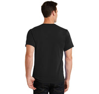 Id Rather Be In The Mountains Men's Heavyweight Big & Tall Cotton Tee Shirt