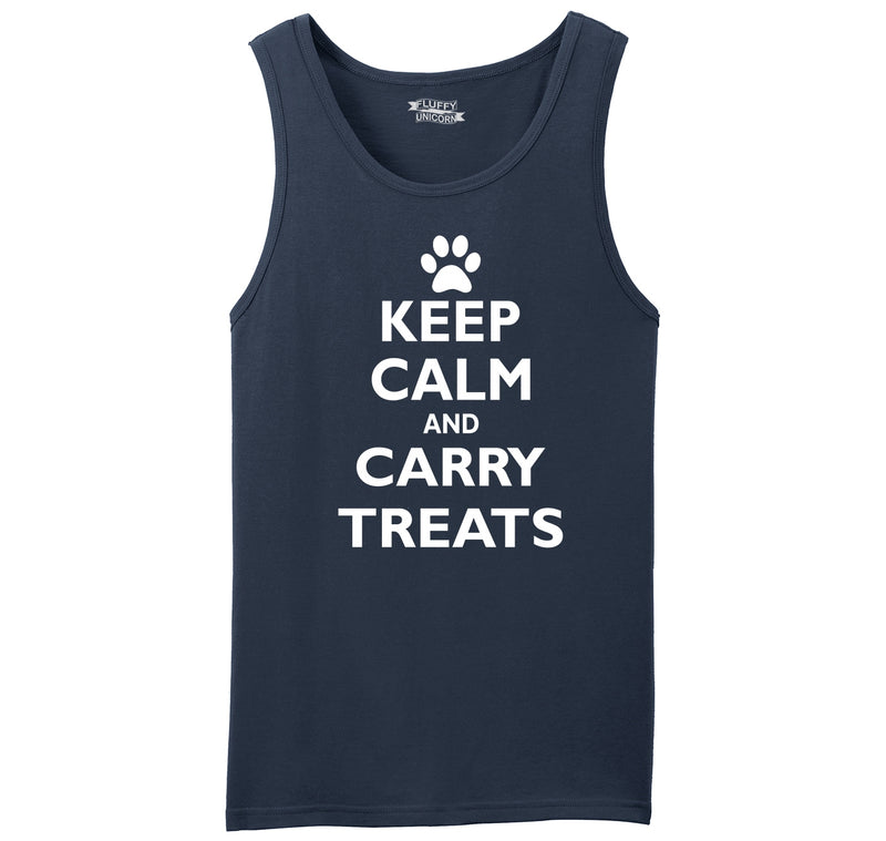 Keep Calm and Carry Treats Mens Sleeveless Tank Top