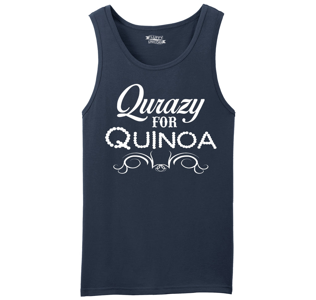 Qurazy For Quinoa Mens Sleeveless Tank Top