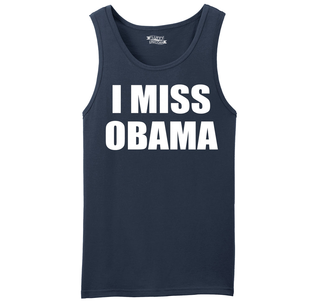 I Miss Obama Mens Sleeveless Tank Top