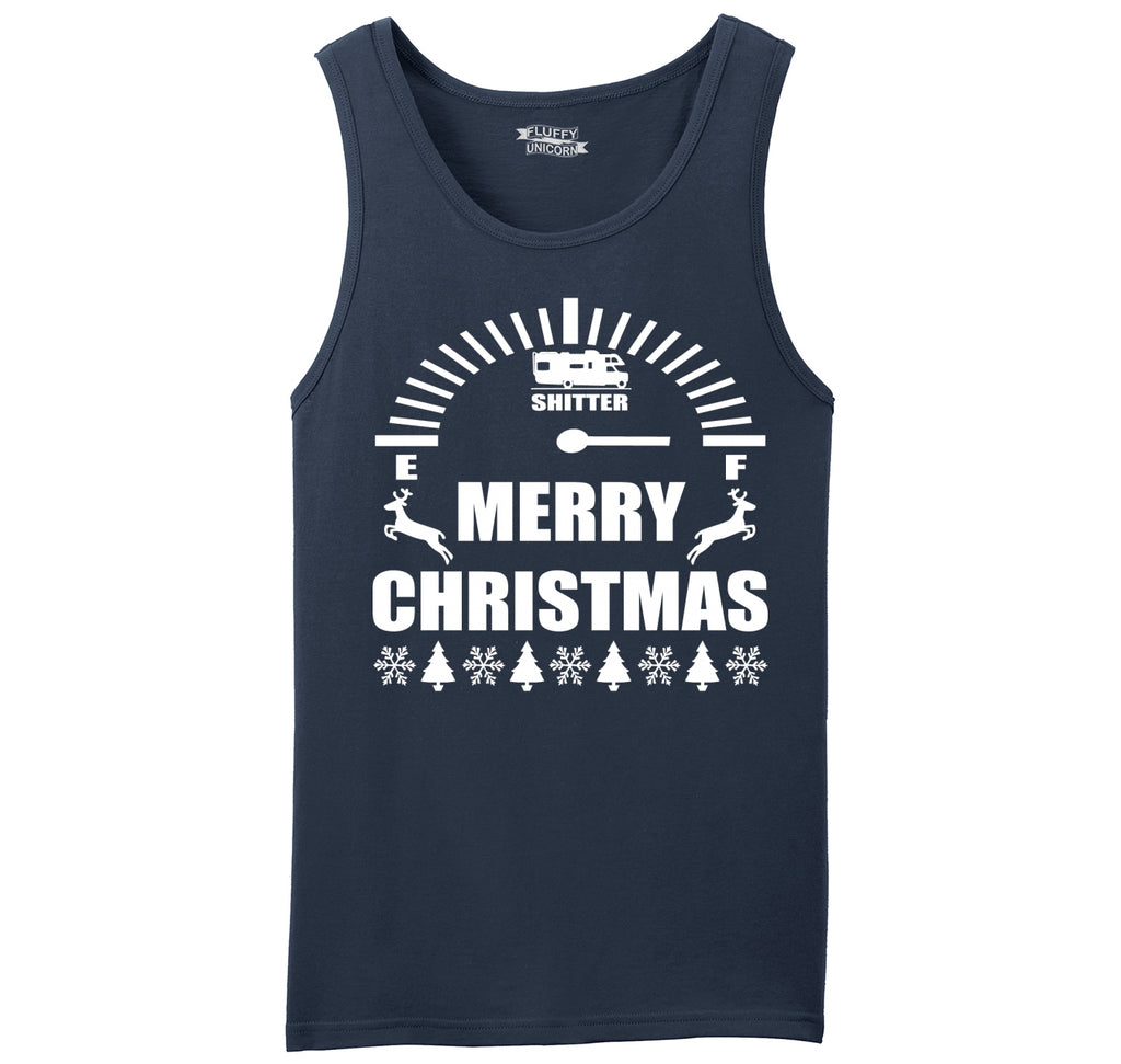 Merry Christmas Shitters Full Mens Sleeveless Tank Top