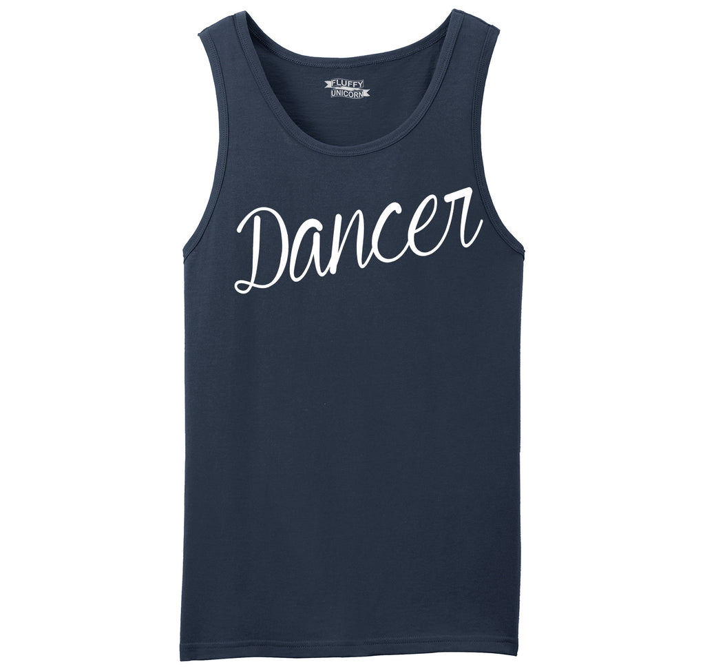 Dancer Mens Sleeveless Tank Top