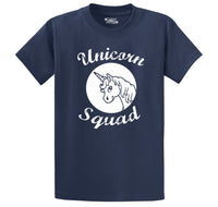 Unicorn Squad Cute Team Bridesmaids Dance Crew Shirt Men's Heavyweight Cotton Tee Shirt