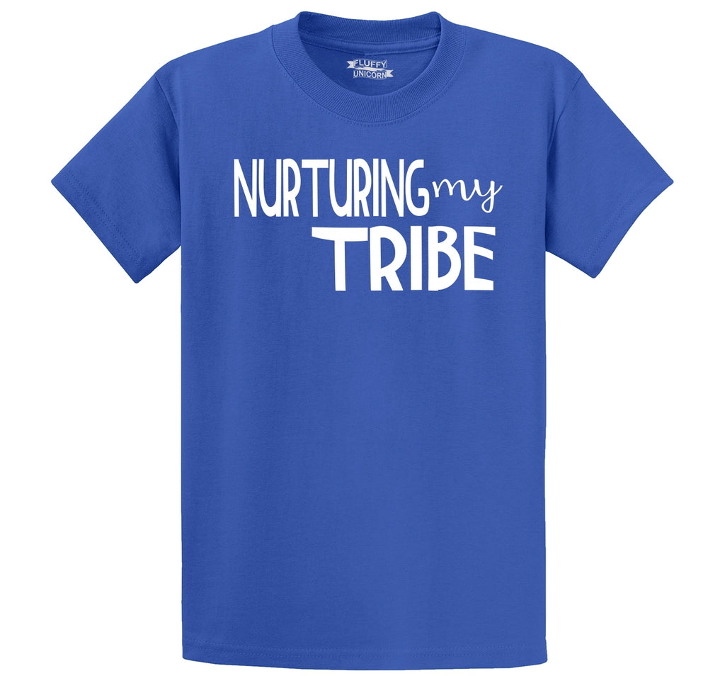 Nurturing My Tribe Men's Heavyweight Cotton Tee Shirt