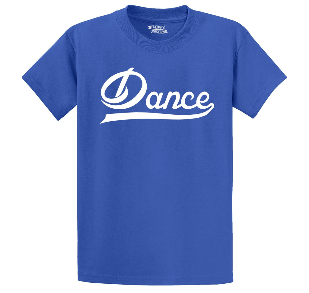 Dance Men's Heavyweight Big & Tall Cotton Tee Shirt