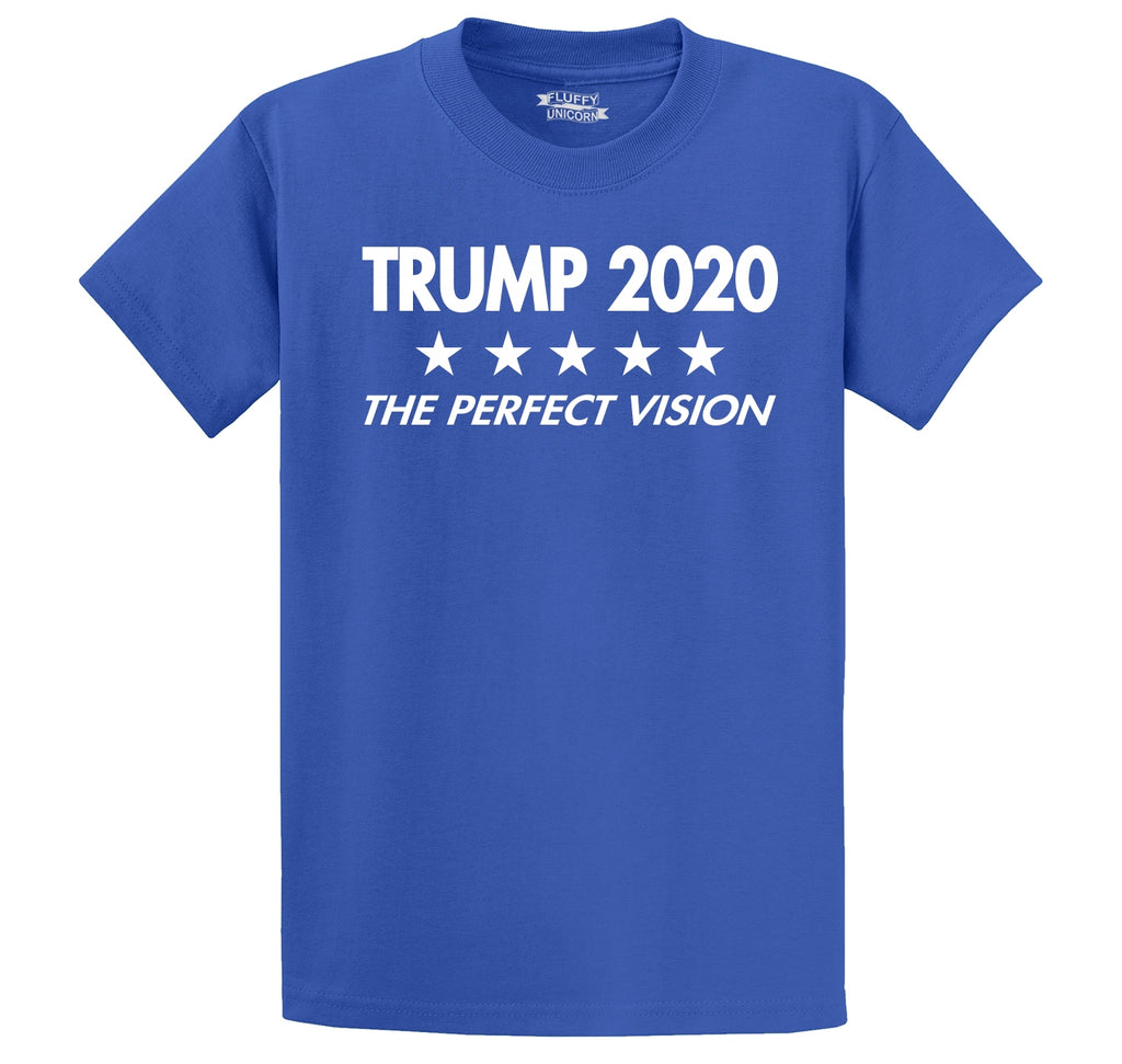 Trump 2020 The Perfect Vision Men's Heavyweight Cotton Tee Shirt