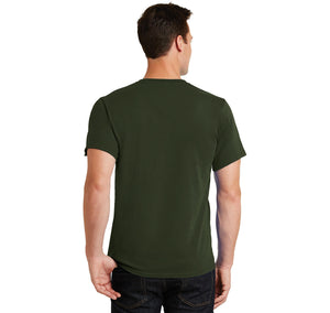 Warning Choking Hazard Large Parts Men's Heavyweight Big & Tall Cotton Tee Shirt