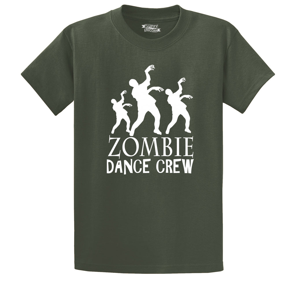Zombie Dance Crew Men's Heavyweight Cotton Tee Shirt