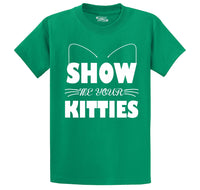Show Me Your Kitties Men's Heavyweight Cotton Tee Shirt