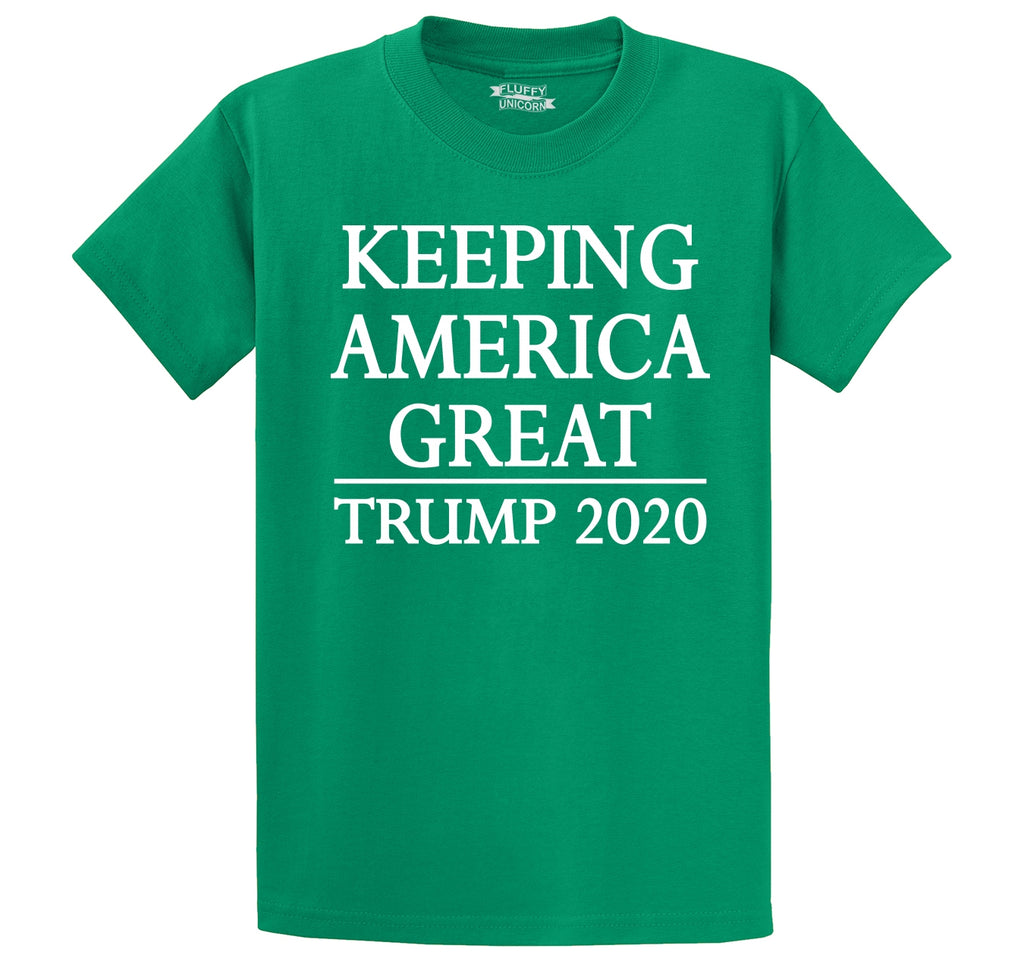 Keeping America Great Trump 2020 Men's Heavyweight Cotton Tee Shirt
