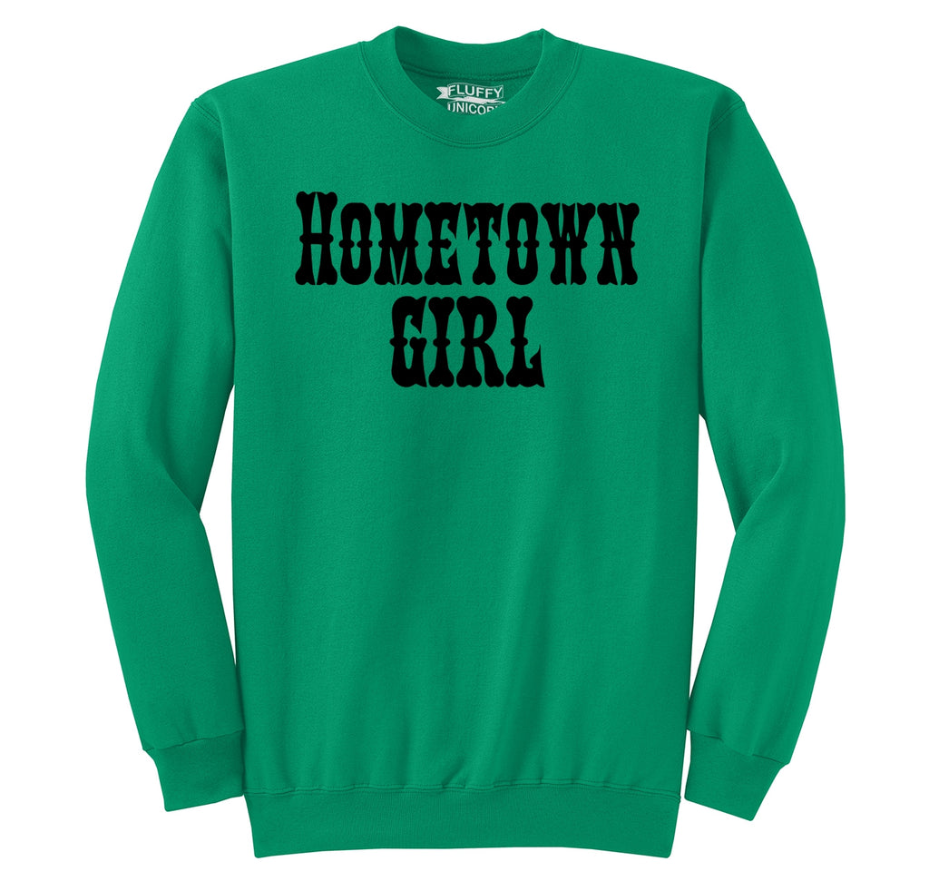 Hometown Girl Crewneck Sweatshirt