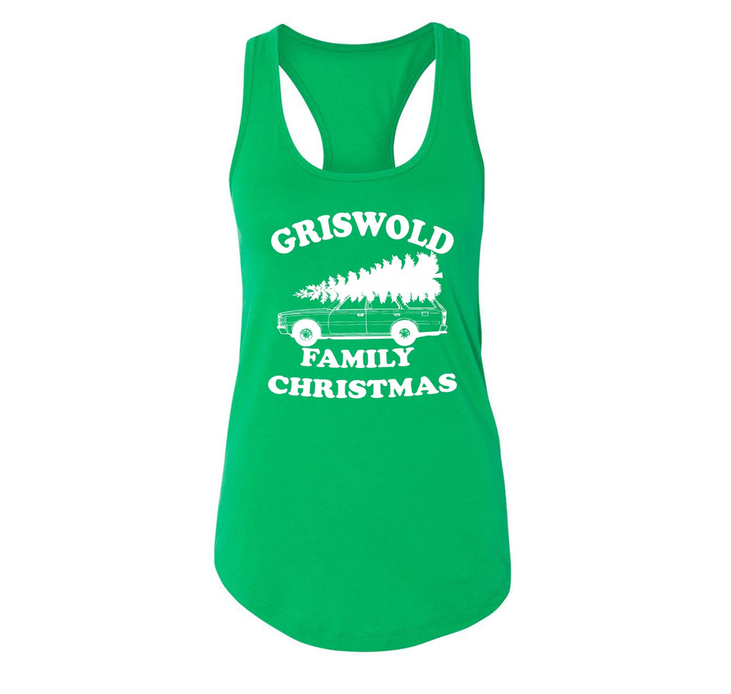 Griswold Family Christmas Ladies Racerback Tank Top