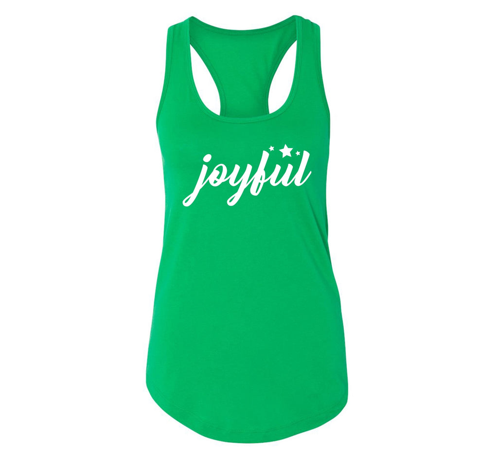 Joyful Ladies Racerback Tank Top