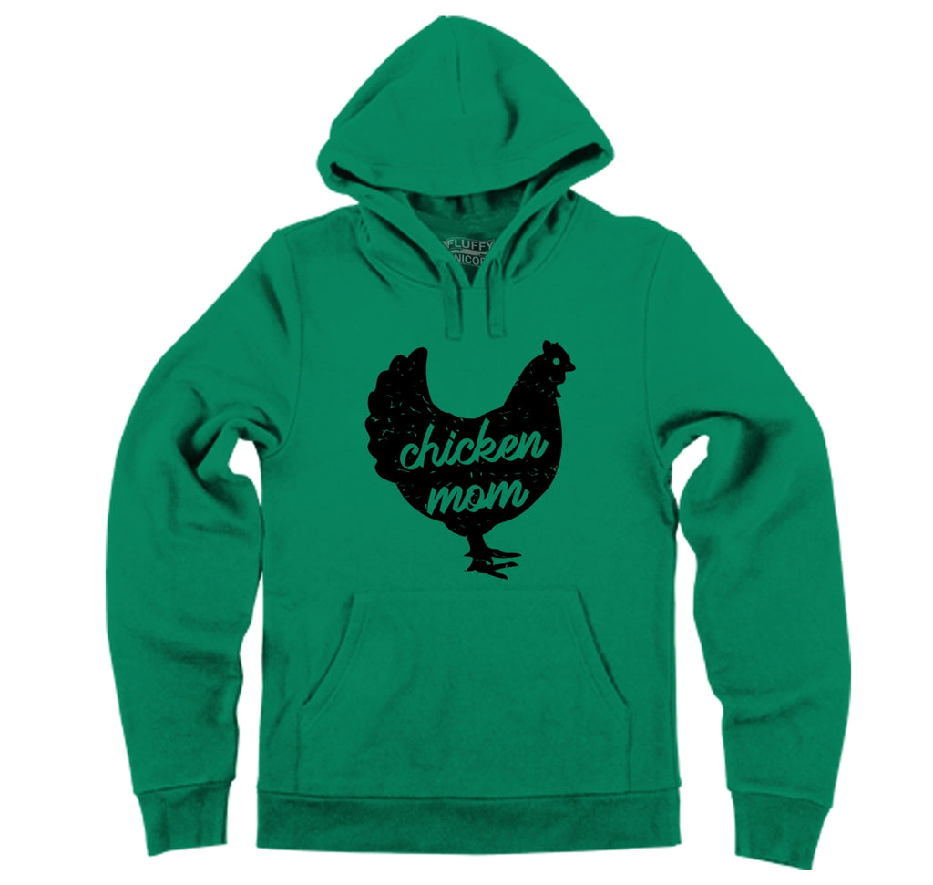 Chicken Mom Hooded Sweatshirt