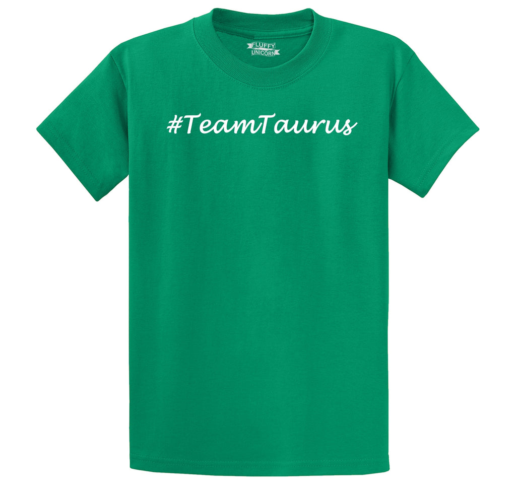 #TeamTaurus Men's Heavyweight Big & Tall Cotton Tee Shirt
