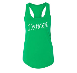 Dancer Ladies Racerback Tank Top