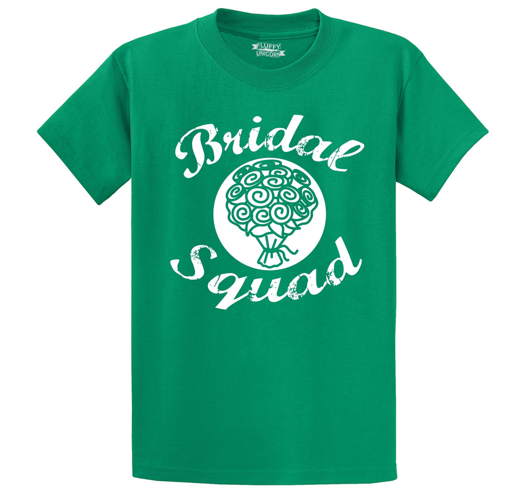 Bridal Squad Flowers Men's Heavyweight Cotton Tee Shirt