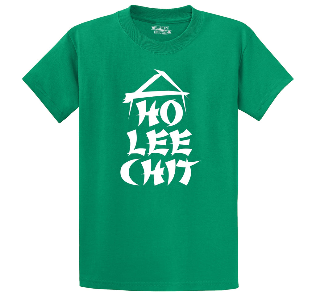 Ho Lee Chit Men's Heavyweight Big & Tall Cotton Tee Shirt