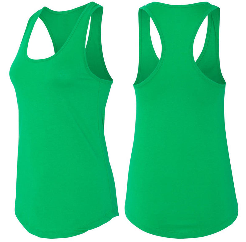 Who Gives A Split Ladies Racerback Tank Top