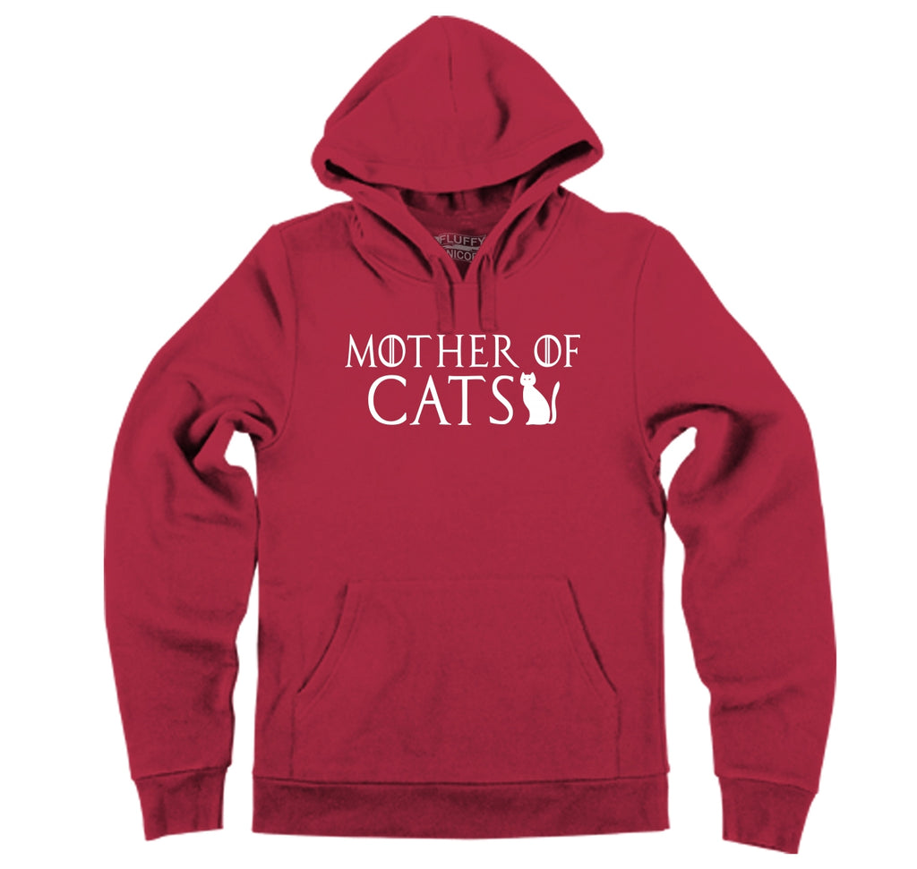 Mother Of Cats Hooded Sweatshirt