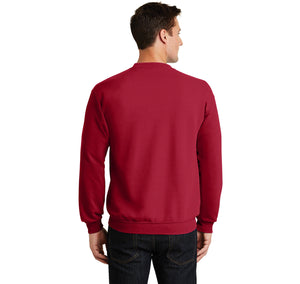 College Crewneck Sweatshirt