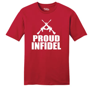 Proud Infidel Mens Ringspun Cotton Tee Shirt
