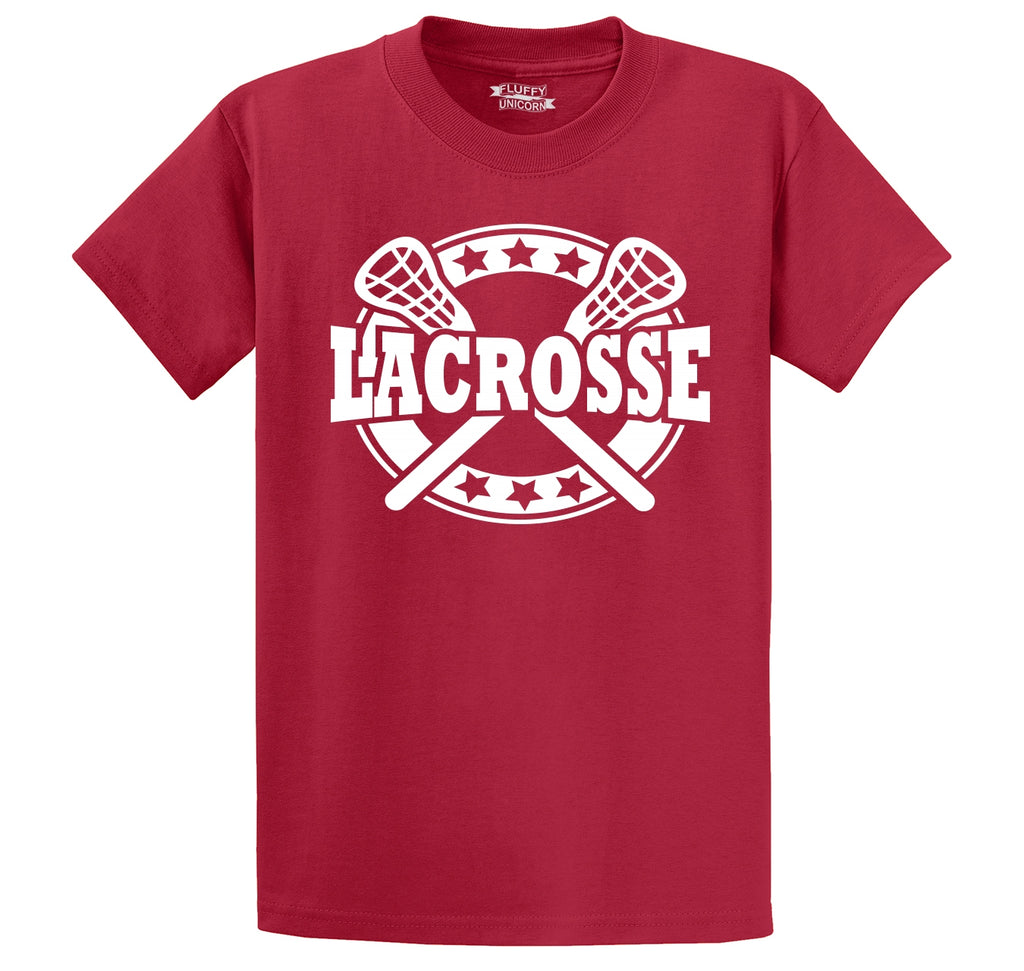 Lacrosse Men's Heavyweight Big & Tall Cotton Tee Shirt