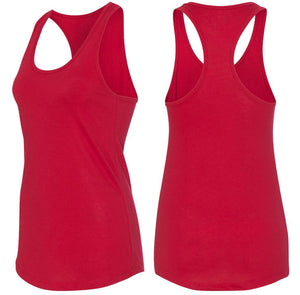 What The F Stop Ladies Racerback Tank Top