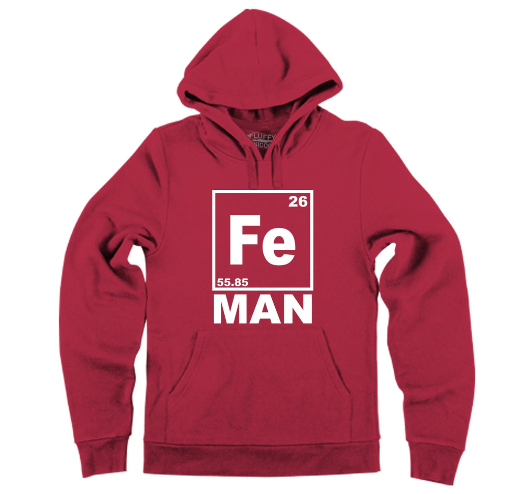 Fe Man Hooded Sweatshirt