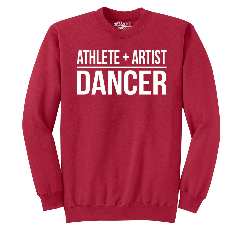 Athlete Artist Dancer Crewneck Sweatshirt
