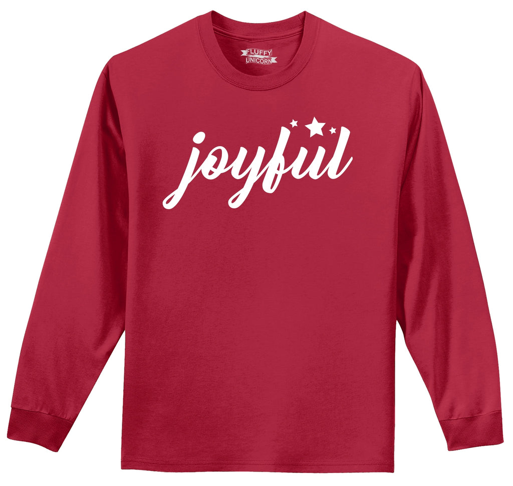 Joyful Mens Long Sleeve Tee Shirt