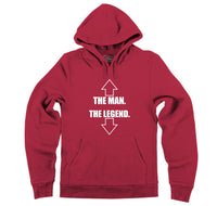 The Man The Legend Hooded Sweatshirt